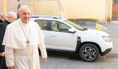 ورود داستر به ناوگان خودروهای پاپ فرانسیس