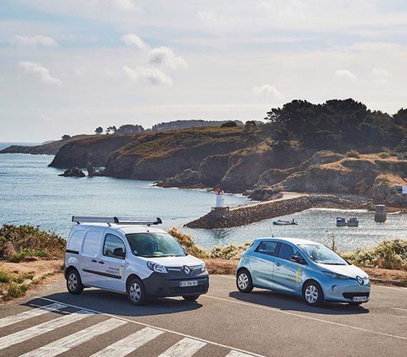 رنو نخستین جزیره هوشمند برقی را در فرانسه می سازد