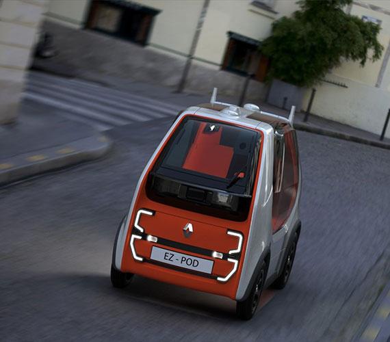 ایزی پاد روبو خودروی دیگری از رنو