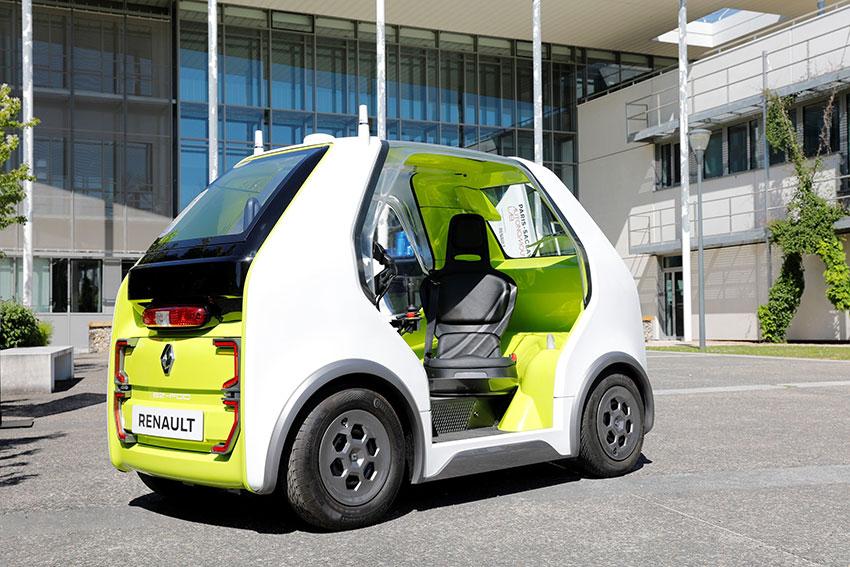 رنو ایزی پاد - Renault EZ POD